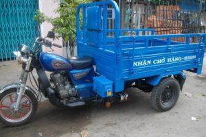 Xe ba gác thể hiện sự vượt trội trong dịch vụ chuyển nhà